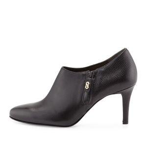Cole Haan black heel booties